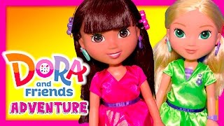 Unboxing the Dora and Friend Dora and Alana Adventure Dolls