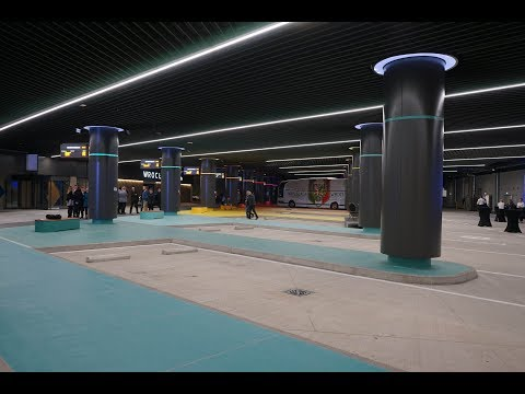 Nowy dworzec we Wrocławiu już otwarty