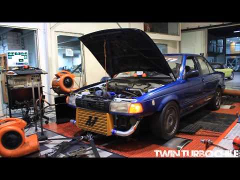 Nissan V16 Ga16DET Dyno 302,6whp/286 lb/ft de torque