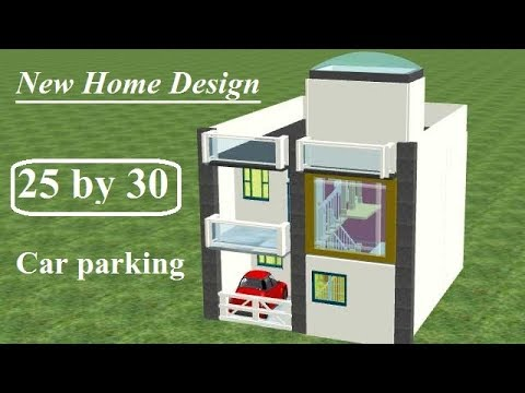 25 By 30 House Plan With Car Parking Small House Plan In 25 By 30 25 By 30 Sqrft Home Design Youtube