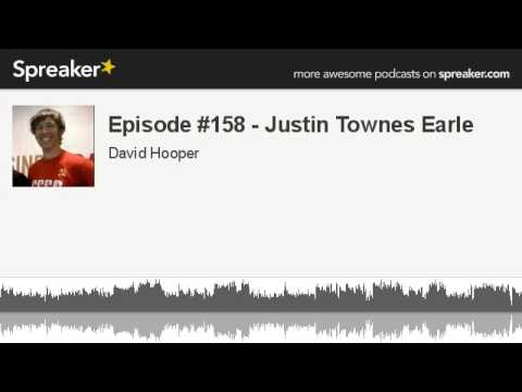 Episode #158 - Justin Townes Earle (made with Spreaker)