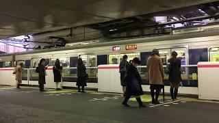 JR学研都市線(片町線) 京橋駅のホームドア Platform screen doors, Gakkentoshi Line Kyōbashi Station (2019.2)