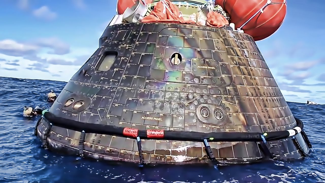 U.S. Navy Recovers NASA Orion Space Capsule • EFT-1 - YouTube