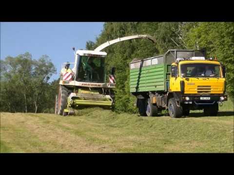 Agro Chomutice - Senáže 2017 - HD