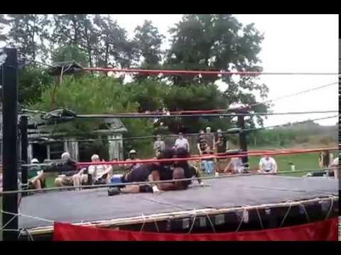 Jones & Browns first wrestling match