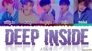 AB6IX (에이비식스) - 'DEEP INSIDE' Lyrics [Color Coded_Han_Rom_Eng]