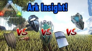 Ark Insight - Tek Shield V.S All Shields!!!