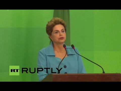 LIVE: President Rousseff gives speech following impeachment vote