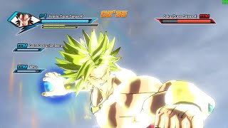 Dragon Ball Xenoverse PC MOD (144 FPS) Broly Super Saiyan 4 Vegeta Character Swap Gameplay