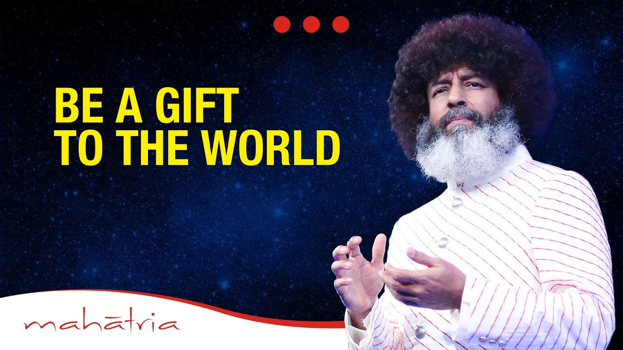 Be a Gift to The World | Mahatria at the Rotary International ...