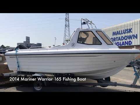 2014 Mariner Warrior 165 Fishing Boat