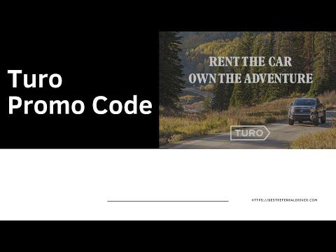 Turo Promo Code : The Comprehensive Guide