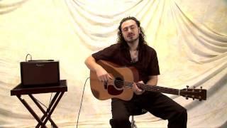 AC-33-RW Acoustic Chorus Guitar Amplifier: Introduction part 2
