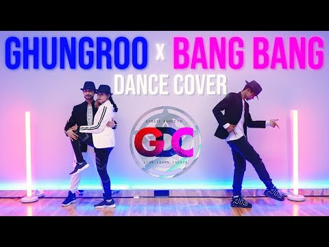 Ghungroo X Bang Bang   WAR   Hrithik Roshan   Gyrate Dance Co. Dance Cover