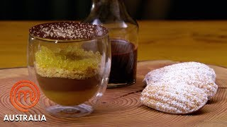 Warm Chocolate & Orange Mousse With Madeleines | MasterChef Australia | MasterChef World