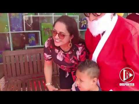 Supermercados Negrelli de Agudos do Sul realizou de presentes Natal às crianças