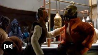 Falscher Ort, Falsche Zeit | Robot Chicken Star Wars | Adult Swim