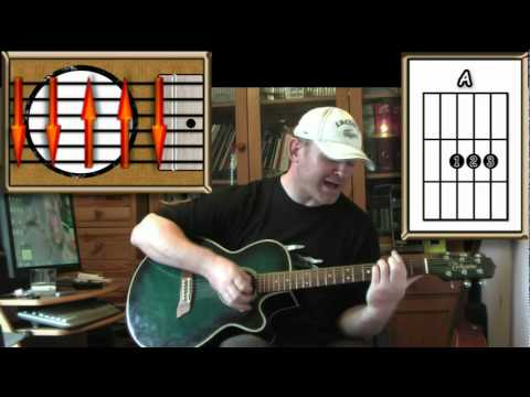 Stand By Me - Ben E. King - Acoustic Guitar Lesson (Easy) (detune by 1 fret)