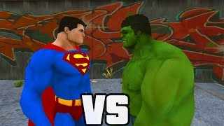 Video Superman Vs Hulk - O Combate download MP3, 3GP, MP4, WEBM, AVI, FLV September 2018