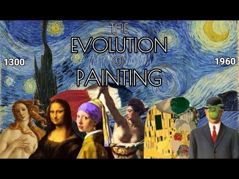 The Evolution Of Painting (1300 - 1960)