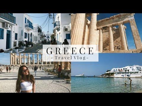 GREECE TRAVEL VLOG | Mykonos + Athens
