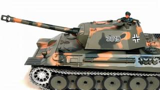 RC German Panther Tank with Machine Gun - Best Remote Control Toy Model For Sale