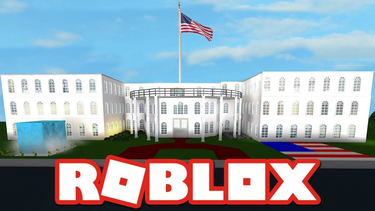 Touring The White House In Roblox Bloxburg Youtube