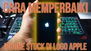 stuck_on_apple #bootloop Halo Cuy, Jadi di video ini gw bakalan kasih tutorial gimana caranya ngatas.