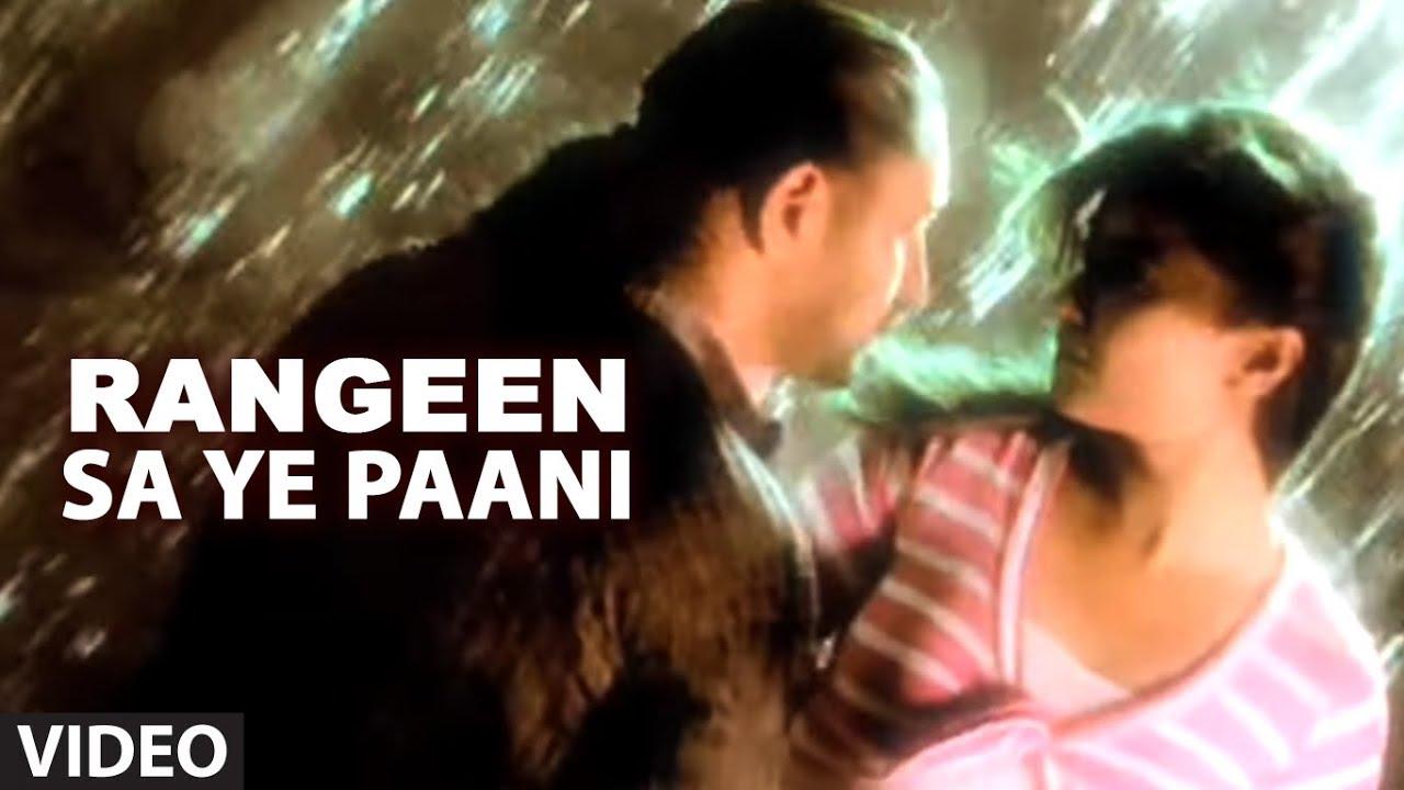 Download Arvinder Singh Rangeen Sa Ye Paani - Full Video Song ᴴᴰ - Rangeen Paani Album