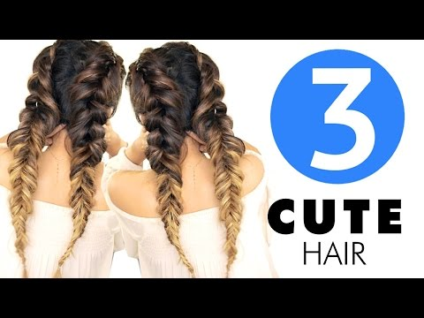 ★-3-easy-hairstyles-|-girls-cute-back-to-school-hairstyle