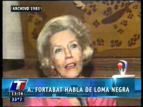 Amalia Fortabat habla de Loma Negra
