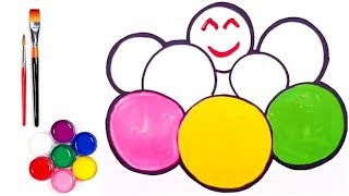 Learn 7 Color Ball  Pull Coloring and drawing for Kids, Toddlers | Joan Toy Art