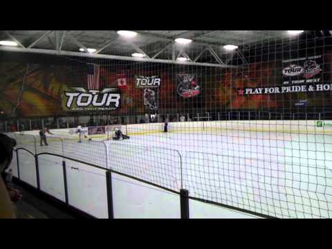 Itan Chavira penalty shot at State Wars Cincinnati 2011 Roller hockey Tournament