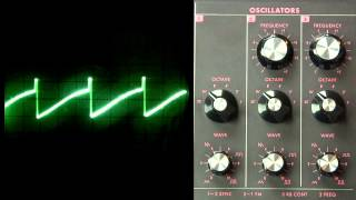 The Oscillator- Variable Waveshape