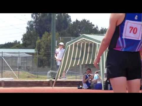 2012-3 NSWLA Met South Zones under 17 and under 15 Boys High Jump Thibaut Training