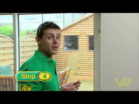 How to Install a Patio Door Lock