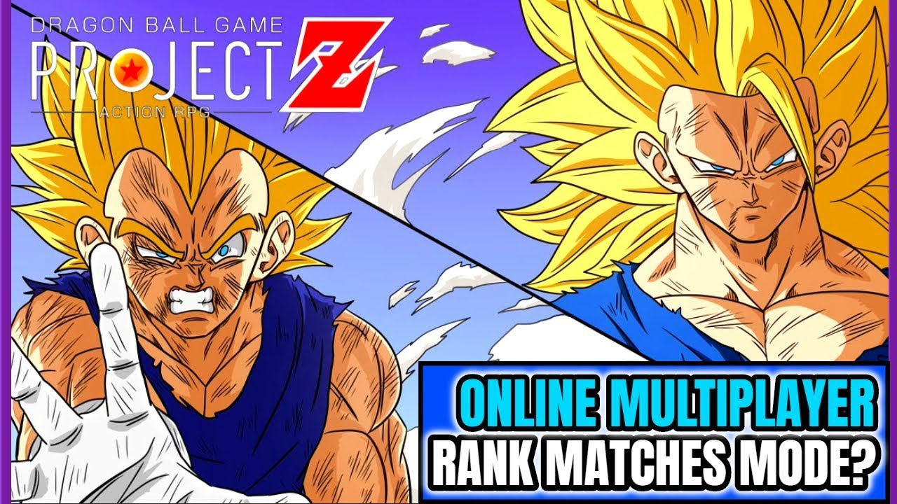 Dragon Ball Project Z Road To E3 - Online Multiplayer & Rank