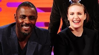 Flirty Texts with LENA DUNHAM & IDRIS ELBA - The Graham Norton Show on BBC AMERICA