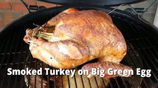 Smoked Turkey on Big Green Egg | How To Smoke A Turkey BGE with Malcom Reed HowToBBQRight
