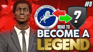 ROAD TO BECOME A LEGEND! PES 2019 #8 MANNY MOVING UP TO THE PREMIER LEAGUE?!""