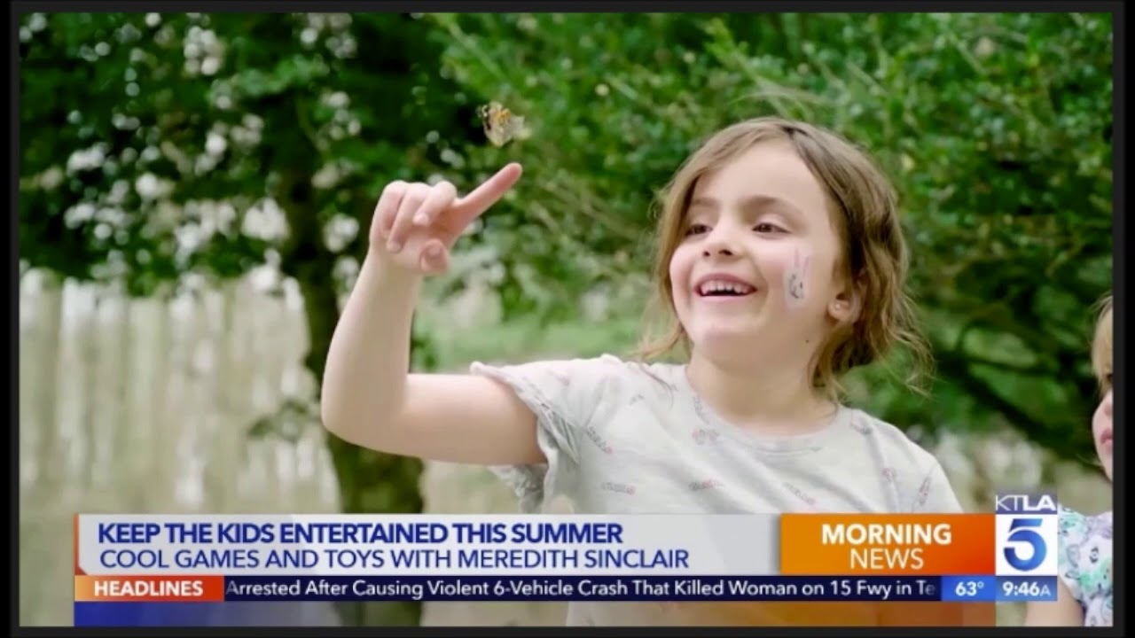 Insect Lore on KTLA TV Los Angeles 06/19