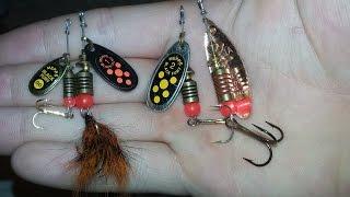 видео Выбор приманок для ловли спиннингом