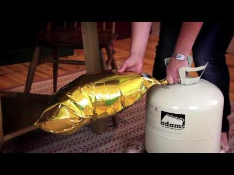 BUBBLEGUM BALLOONS HOW TO VIDEO round foil balloon