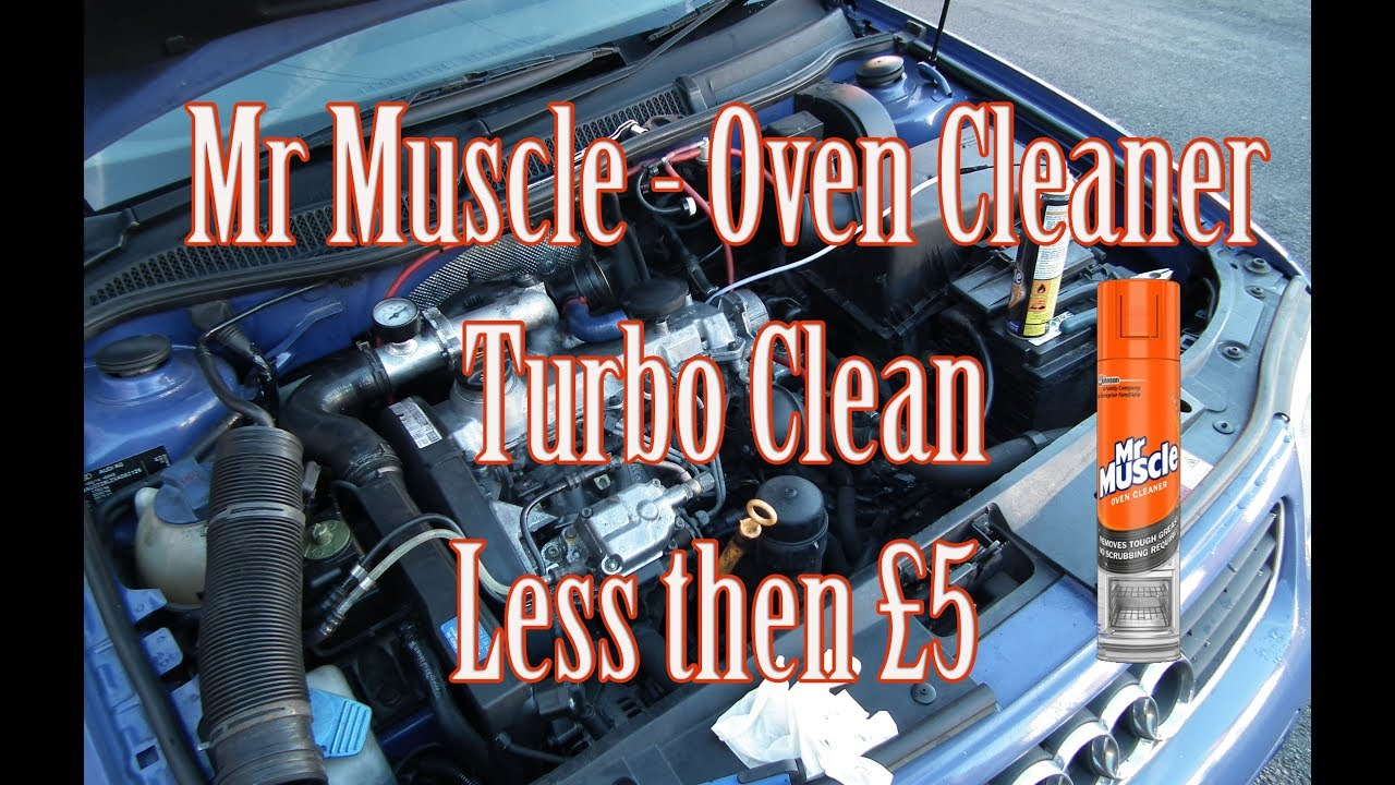 mr muscle turbo clean