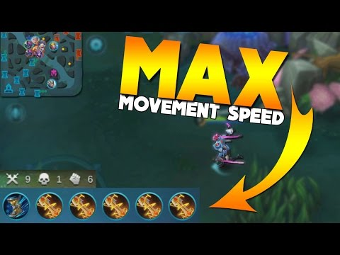 Mobile Legends FASTEST Movement Speed! (100% movement speed build)