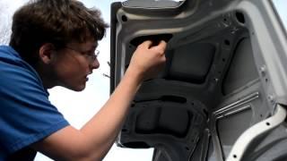 Trunk Lock Replacement 93-97 corolla sedan