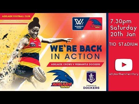 AFLW Pre-Season Trial Match: Adelaide Crows vs Fremantle