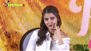 Anushka Sharma BLUSHES when asked about Virat Kohli | SpotboyE