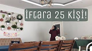 32 İftara 25 Kişilik Misafir Ramazan İftar Menüm