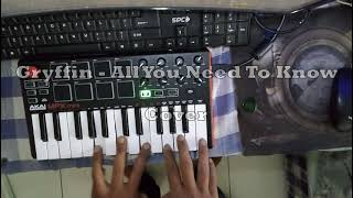 Gryffin - All You Need To Know Cover
